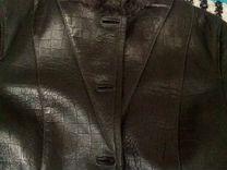 Куртка-дубленка на межсезонье
