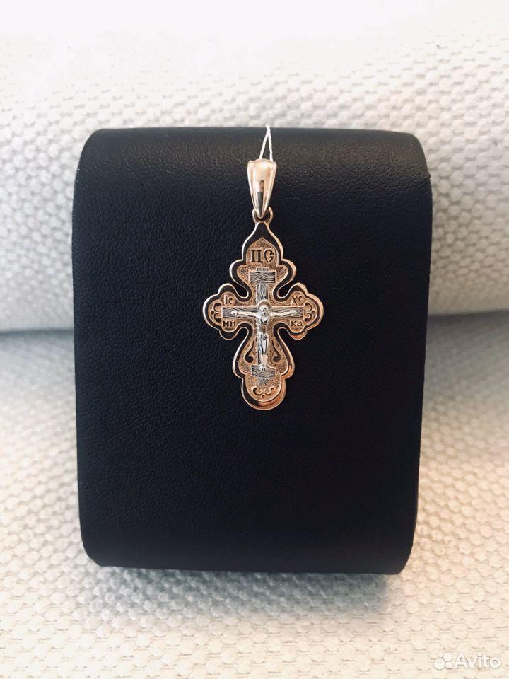 Крест из Золота 585