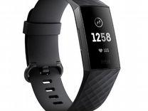 Умные часы фитнес-браслет Fitbit Charge 3