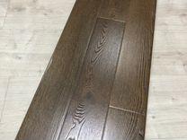 Ламинат 3-х полосный дуб темный, 12 мм, 34 класс