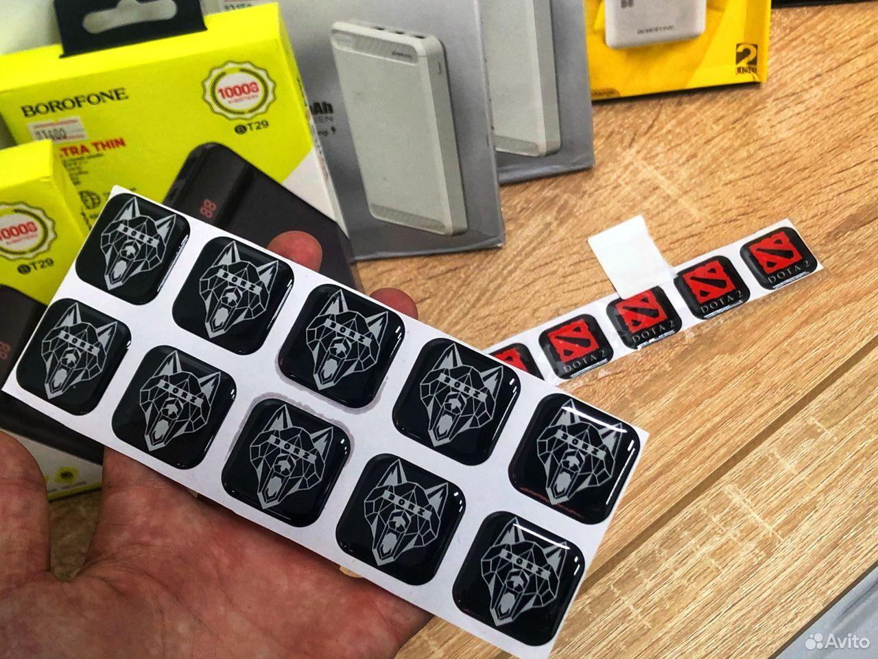 Стикеры (наклейки) для телефонов