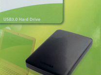 Внешний HDD Toshiba Canvio Basics объемом 500 Гб