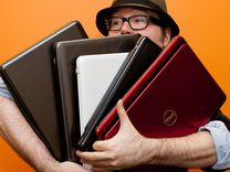 Очень много ноутбуков