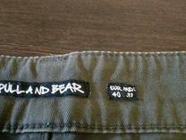 Брюки pull&bear 40размер super slim