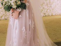 Платье в пол (свадебное)