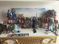 Куклы monster high,comic con,Pullip,Ever After