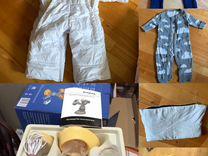 Пакет детских вещей 40 кресло рюкзак молокоотсос т
