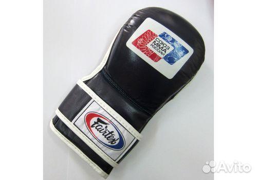 Боевые перчатки FGV15 союз мма россии Blue  89648992999 купить 1