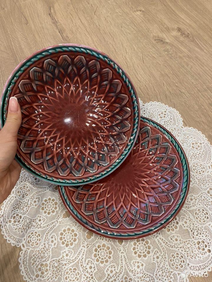 Тарелка цветная