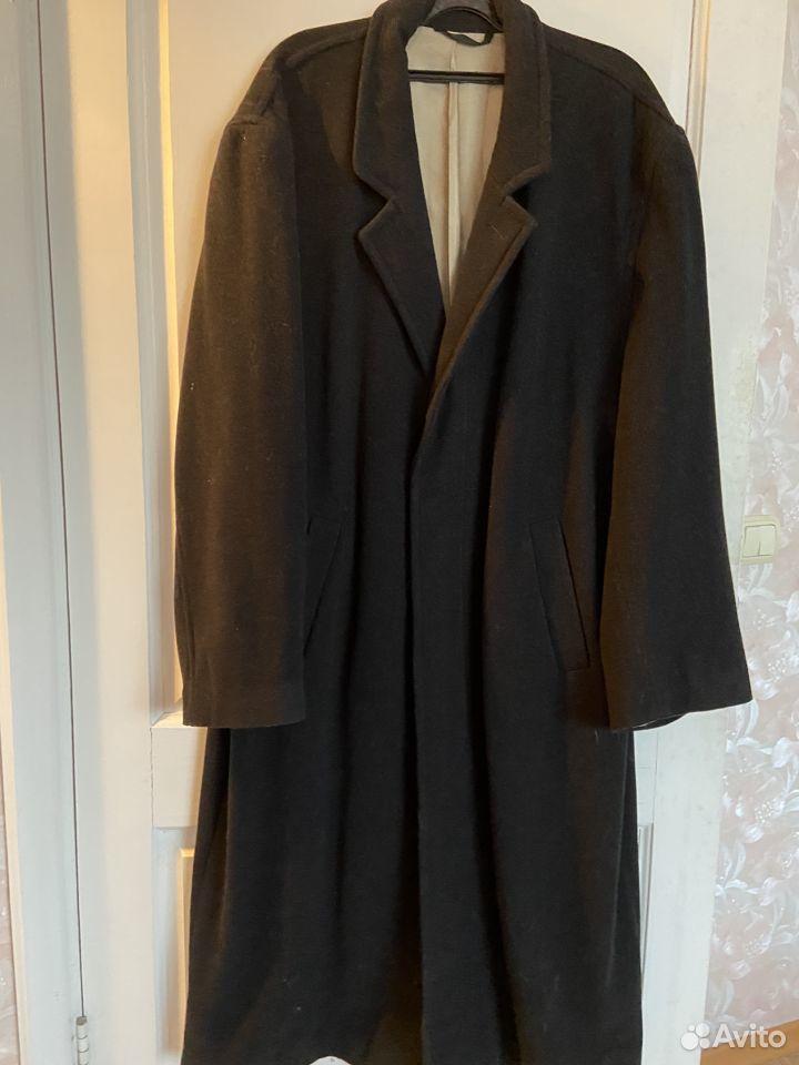 Пальто мужское шикарное р-р 56, Италия, кашемир