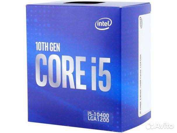 Процессор intel Core i5 10400, LGA 1200, BOX  89607715858 купить 1