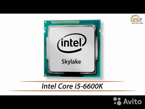 IntelCore i5-6600K SkyLake Сокет - LGA1151